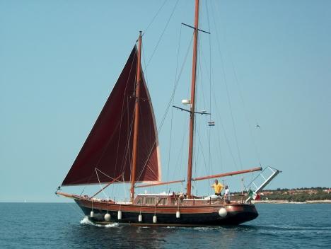 Barche a vela usate - Brignone - Schooner legno - parenzo - 910 - Il Velista