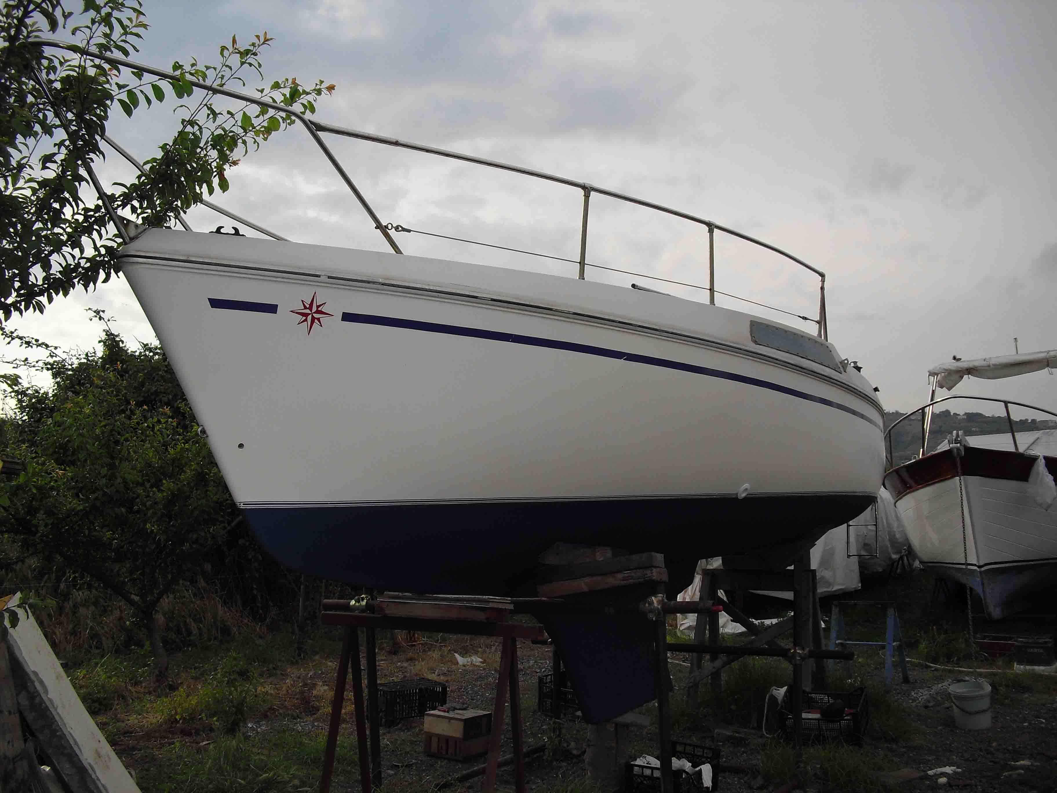 Barche a vela usate bavaria 33 cruiser portoferraio for Barche al largo con cabine