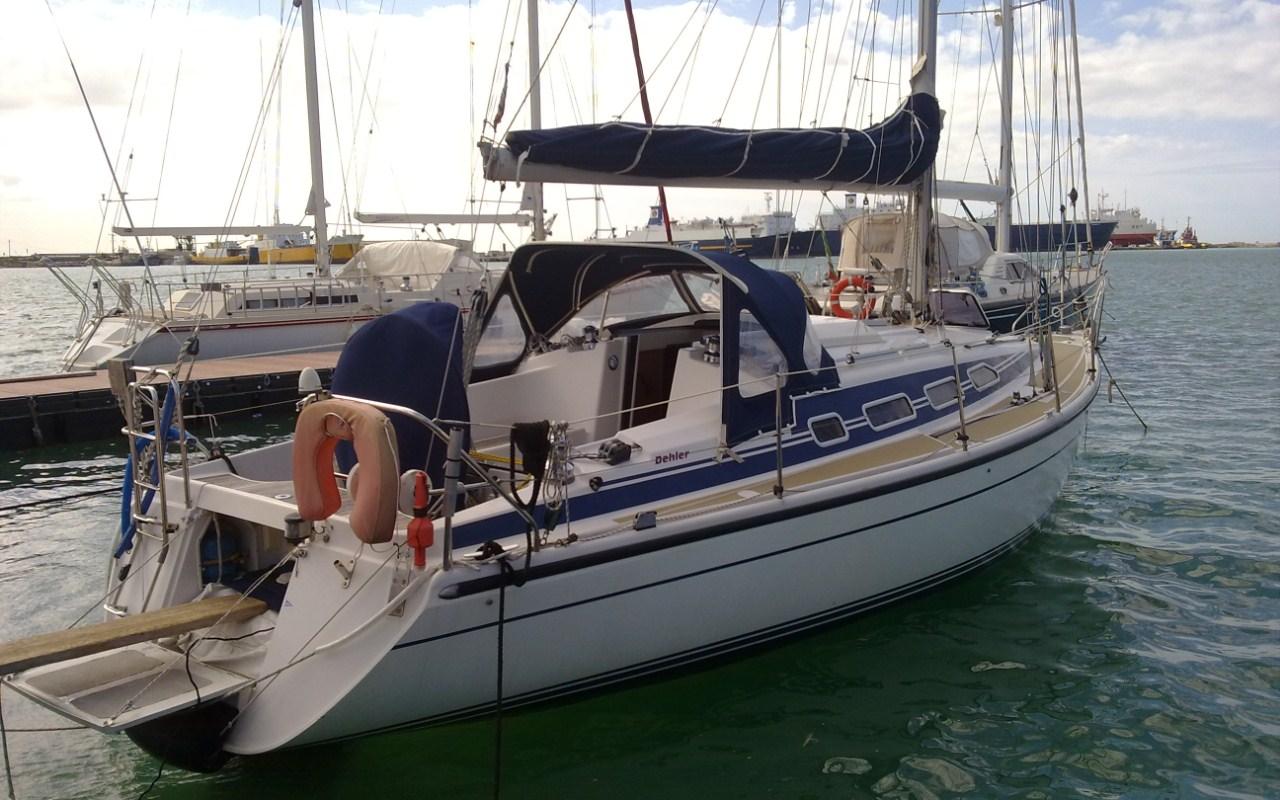 barche a vela usate dehler 37 cruising punta ala On barche al largo con cabine